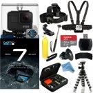 GoPro HERO7 HERO 7 Black Action Camera Must-Have Accessory Bundle