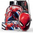 Spider-Man 5-Piece Backpack Set Back 2 School Gear