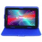 7'' Tablet Quad Core Bundle with Blue Case Dual Camera back 2 School accessory
