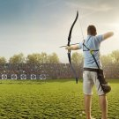 """52"""" Outdoor Weight 45/50 lbs Hunting 12 Arrows Recurve Bow"""