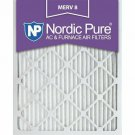 16x20x1 Pleated MERV 8 AC Furnace Air Filters Qty 6