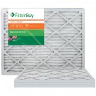 AFB Bronze MERV 6 20x25x1 Pleated AC Furnace Air Filter. Pack of 4 Filters. 100%
