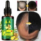 VICOODA Hair Loss Treatment Ginger Hair Growth Serum For Thicker Healthier Hair