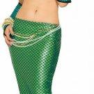 Adult Green Mermaid Skirt Sexy Costume
