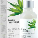 InstaNatural Hyaluronic Acid Serum, Anti Aging Hydrating Wrinkle Serum, 2 oz