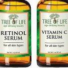 Anti Aging Serum Two-Pack - Highly Natural and Organic Anti Wrinkle Serum - Vita