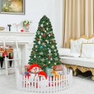 5' / 6' / 7' Fiber Optic Artificial Christmas Tree w/ LED Lights