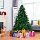 6'/7.5' PVC Artificial Christmas Tree Premium Hinged with Metal Legs