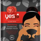 Yes To Tomatoes Detoxifying Charcoal Paper Mask Single Use Charcoal Face Mask 0.