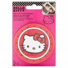 Hello Kitty Auto Cup Holder Coasters, 2 count