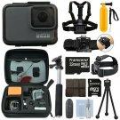 GoPro HERO7 Silver 10 MP Waterproof 4K Camera Camcorder + 32GB Action Bundle