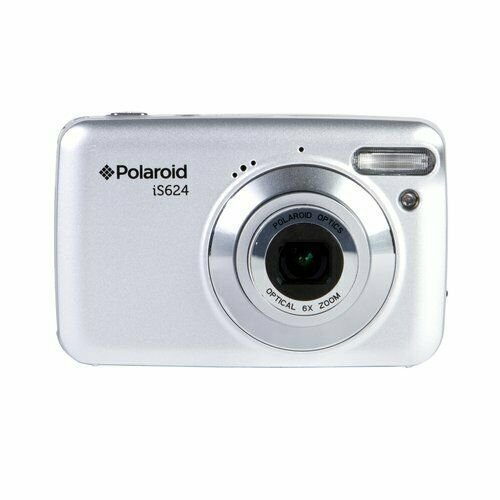Polaroid 16 MP 6X Optical Zoom Digital Camera Silver Quality Pictures