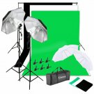 Zimtown Photography Studio Backdrop Stand Umbrella Continuous Lighting Kit with