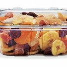 320z Crystal Seal Tamper-Resistant Clear Container W Lid for Reception ,Banquet