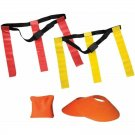 Franklin Sports 10-Player Flag Football Field Set With Cones