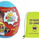 Ryan's World Mini Mystery Egg - Series 7 - Blue Egg with Top Secret Toy Carrier