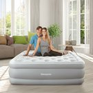 Beautyrest Sky Rise Raised Air Bed Mattress with Hands-Free Express Pump, Multip