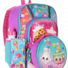 Shopkins 5-Piece Backpack Set With Lunch Bag