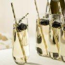 Stemless Champagne Flute Glasses, Set of 12
