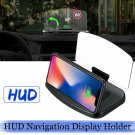 Head Up Display Car HUD Head Up Navigation Display Phone Holder Stand Projector
