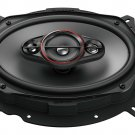 """Pioneer TS-900M, (2) 6"""" x 9"""" 4-way coaxial speakers, 450W max power"""