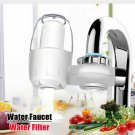 White Ceramic Tap Faucets Water Filter System Washable Mount Kitchen Purifier Fi