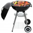Best Choice Products 18-inch Portable Steel Charcoal Barbecue BBQ Grill with Hea