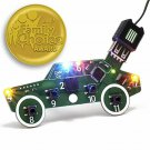 Code Car Circuit Toy for Kids Aged 8,9,10,11,12 to Learn Typed Coding Through Ha