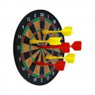 YXwin Dart Board Magnetic 12'' with 6pcs Safe Precision Magnets Darts Great Clas