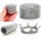 5mm 216 pieces Large Magnetic Balls Building Blocks Sculpture Magnets Educationa