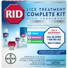 RID Lice Complete  In Hair and Home Treatment Kit to Kill Lice