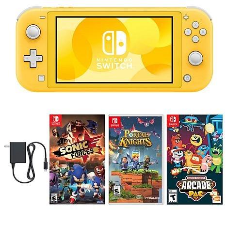 Nintendo Switch Lite Console, Yellow