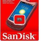 Sandisk 32 MicroSDHC Class 4 Memory Card & MicroSDHC Card Reader (Bulk)