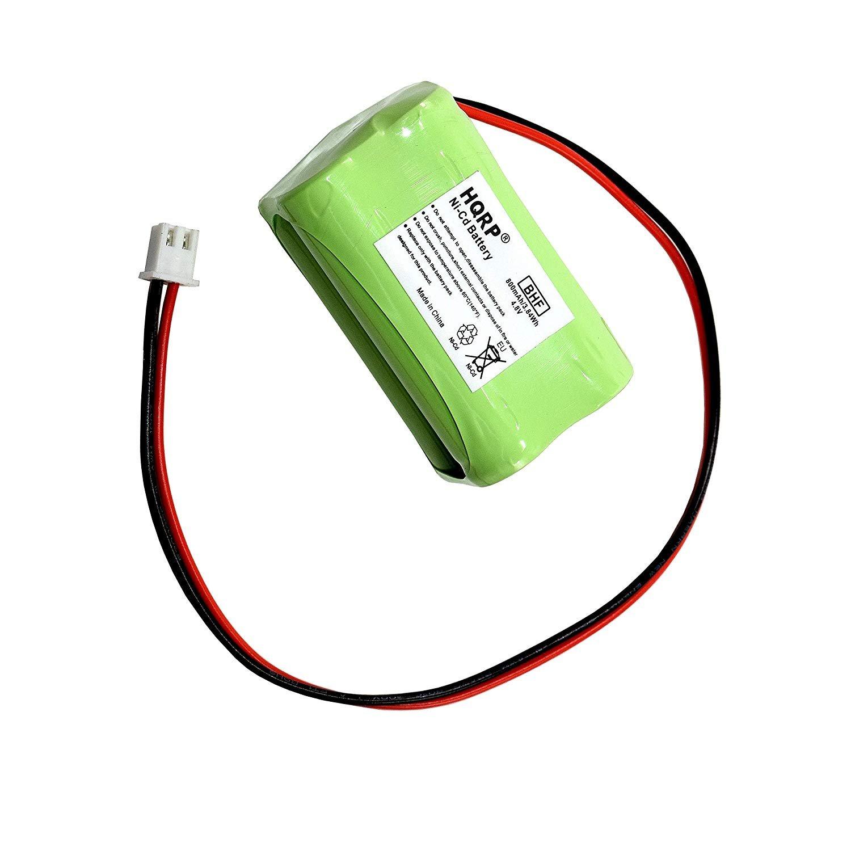 BATTERY FOR EMERGENCY LIGHT EXIT SIGN 4.8V HQRP Backup Battery for LFI