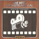THE BEST OF INSTRUMENTAL MOVIE THEMES 10 tracks CD