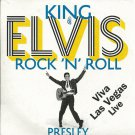 Elvis Presley KING OF ROCK'N'ROLL Viva Las Vegas Live 19 tracks CD