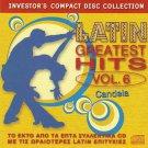 Candela LATIN GREATEST HITS VOL.6 10 tracks CD