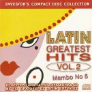 Mambo No 5 LATIN GREATEST HITS VOL.2  10 tracks CD