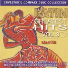 Mamita LATIN GREATEST HITS VOL.3 10 tracks CD