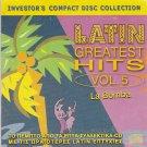 LATIN GREATEST HITS Vol.5 LA BOMBA King Africa Dyango Mojado 10 tracks CD