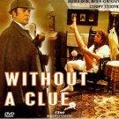 WITHOUT A CLUE Michael Caine Ben Kingsley Jeffrey Jones Paul Freeman R2 DVD