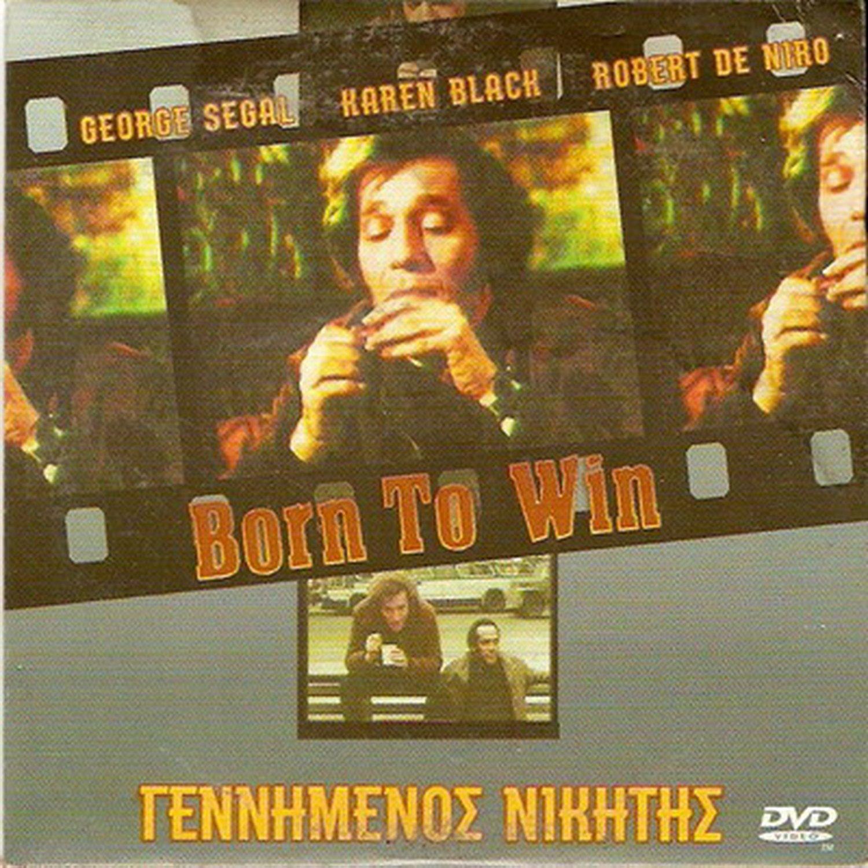 BORN TO WIN (1971) George Segal Karen Black Paula Prentiss Robert De Niro R2 DVD