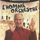 L'HOMME ORCHESTRE Louis de Funes Noelle Adam Franco Fabrizi PAL DVD only French