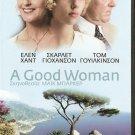 A GOOD WOMAN Helen Hunt Scarlett Johansson Tom Wilkinson PAL DVD