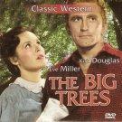 THE BIG TREES Eve Miller Kirk Douglas Patrice Wymore John Archer PAL DVD