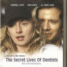 THE SECRET LIVES OF DENTISTS Campbell Scott Hope Davis Denis Leary R2 DVD