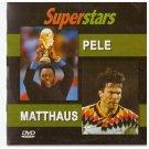 Football Soccer Superstars PELE MATTHAUS  PAL DVD