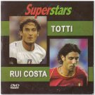Football Soccer Superstars TOTTI RUI COSTA PAL DVD