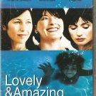 LOVELY & AMAZING Catherine Keener Brenda Blethyn Emily Mortimer R2 DVD SEALED