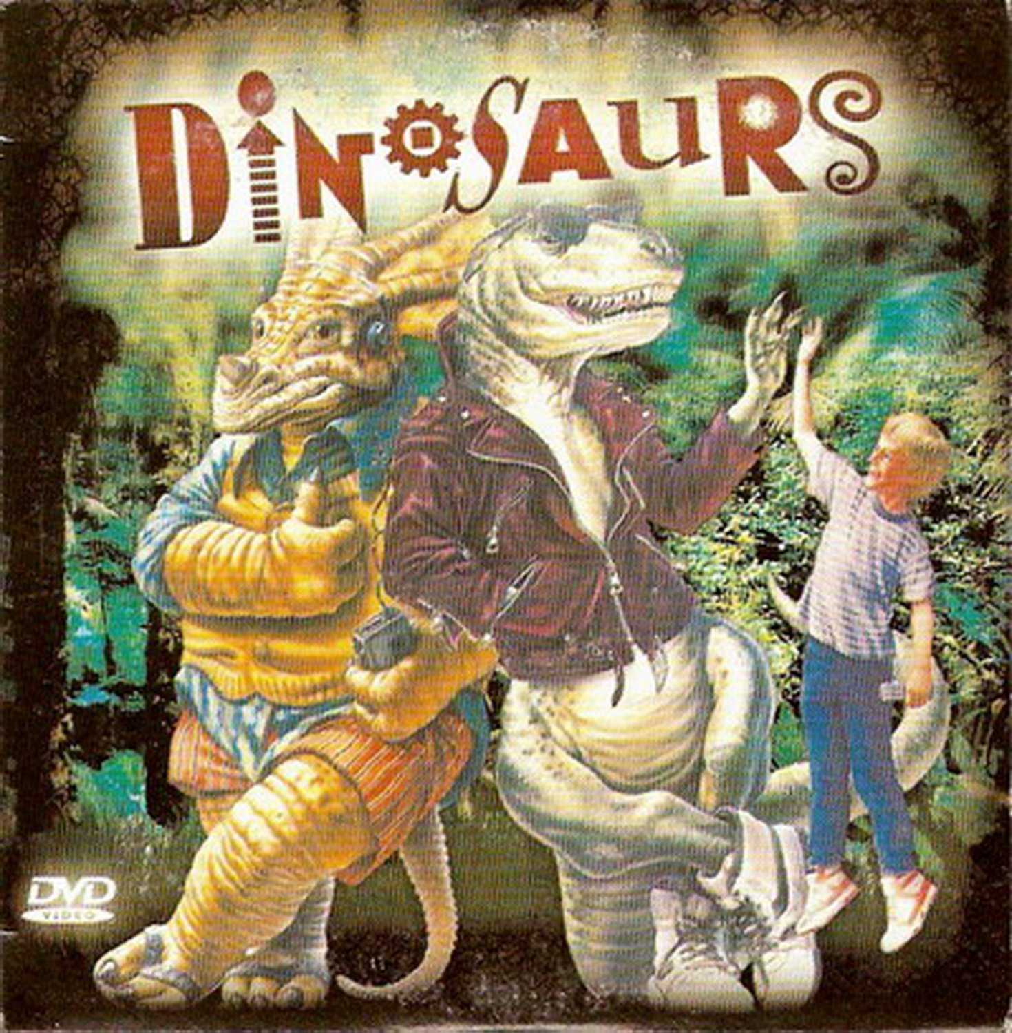 ADVENTURES IN DINOSAUR CITY DVD PAL no removable subtitles